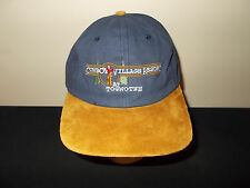 Cowboy Village Resort at Togwotee Mountain Wyoming suede brim hat sku15