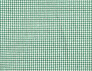 """Tailored 18"""" French Country Gingham Check Pool Blue-Green Cal King Bedskirt"""