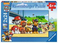 2 x 24 Teile Ravensburger Kinder Puzzle Paw Patrol Heldenhafte Hunde 09064