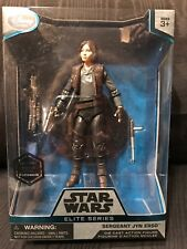 Disney store Star Wars Elite Series Sergeant Jyn Erso Die Cast Action Figure A3