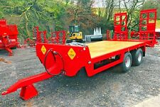 NEW TYRONE TRAILERS LOW LOADER TRAILER AVAILABLE FROM STOCK!! tractor ,dump.JCB