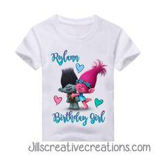 Trolls Birthday Shirt, Trolls, Birthday, Personalized shirt, Trolls Shirt