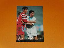 ALBERTO MALUSCI OLYMPIQUE MARSEILLE OM FOOTBALL CARD PANINI 1996-1997