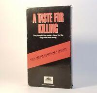 A Taste for Killing (VHS 1993, Demo Tape/Screener) VGC Tested! Michael Biehn HTF