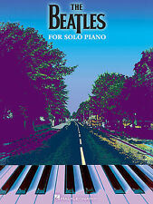 THE BEATLES FOR SOLO PIANO SHEET MUSIC SONG BOOK