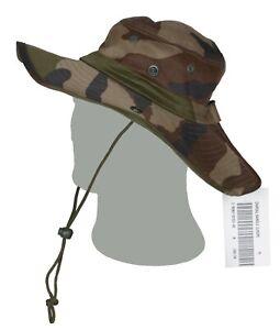 Chapeau de brousse armée Française camouflage OTAN CE modèle NG neuf en taille 1