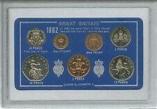 1982 Vintage Coin Set 35th Birthday Birth Year Present Wedding Anniversary Gift