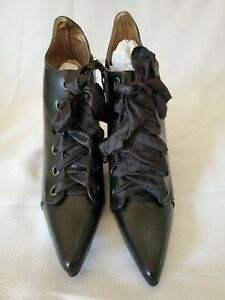 Ellie Shoes Women's 301-abigail Ankle Bootie, Black, Size 8 5S4