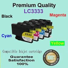 4 x LC3333 LC 3333 Generic Ink Cartridge Compatible for BROTHER MFC J1300DW