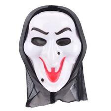 Adult Halloween Hooded Scream Scary Halloween Creepy Men Fun Face Mask Accessory