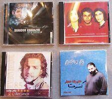 LOT OF 8 PERSIAN IRANIAN MUSIC CD'S FARZAN RUSHID POUYA BENYAMIN MOHSEN CHAVOSHI