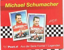 (M0) AUSTRIA 2006 BOOKLET MICHAEL SCHUMACHER BOTH STAMPS MNH **