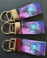 Strictly Come Dancing Glitter Ball TV Dance Ballroom Modern Keyring Keyfob Gift