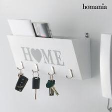 Organizador Decoración de pared blanco madera Decoracion casa Home hogar