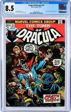 Tomb of Dracula #13, CGC 8.5 OW-W. Blade Origin, 1st App Deacon Frost. KEY