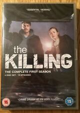 New - The Killing - Complete First Season Series 1 4x DVD (2011) 13 Episodes