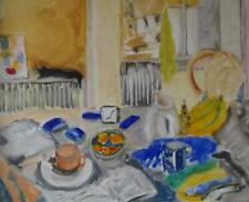 More details for bloomsbury school still life interior fine oil painting by margaret harmsworth