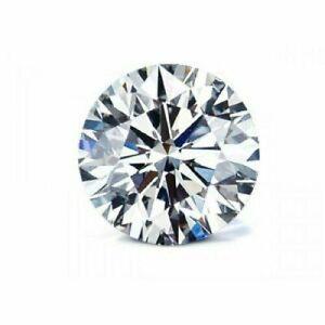 5MM White Simulated Diamond Loose Gemstone Round Cut D/VVS1