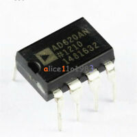 10PCS AD620 AD620AN DIP-8 Instrumentation Amplifier IC