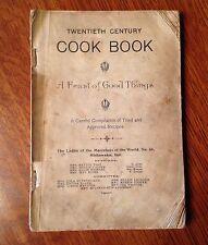 """Vintage 1905 """"Twentieth Century Cook Book"""""""