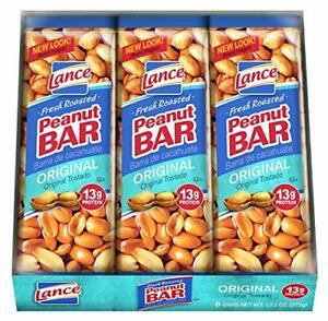 Lance Peanut Bar Individually Wrapped Bars Peanuts