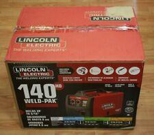 Ma3 Lincoln Electric 140 Hd Weld Pak Wire Feed Welder New
