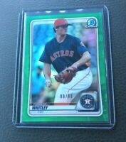 Forrest Whitley 2020 Bowman Chrome GREEN REFRACTOR Rookie 88/99 ASTROS