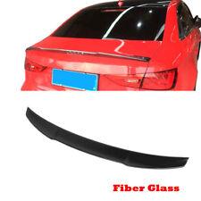 For Audi A3/ S3/RS3 Sedan 14-19 Rear Trunk Lid Spoiler Wing FRP Glossy Black