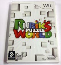 JEU Nintendo WII RUBIKS PUZZLE WORLD   neuf