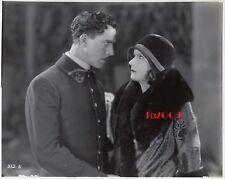 "GRETA GARBO & LARS HANSON Older Restrike RARE Photo '28 ""DIVINE WOMAN"" Still"
