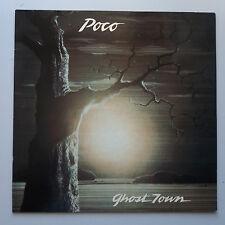 Poco - Ghost Town LP German 1st Press 1982 NM/NM