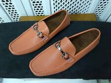 Amali Mens Perforated Smooth Driver, Comfortable Loafer Shoe, SIZE 10 1/2 NEW