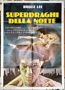 manifesto 2F film FURY OF THE DRAGON Bruce Lee Van Williams 1976 GREEN HORNET