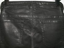 Diesel thavar slim-skinny fit jeans wax coated leather style 0807V W28 L30 a2359