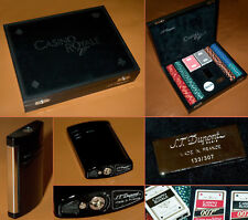 S.t. Dupont Casino Royale 007 Limited Edition 2006 poker set Nº 133 James Bond