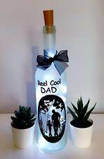 LED Star Light Up Bottles Gift For Dad  Birthday Christmas or for Fishing Lovers