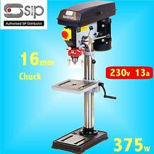 SIP 01701 B16-12 Professional Bench Pillar Drill 375w