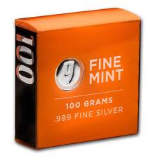100 gram Silver Bar - 9Fine Mint - SKU# 156278