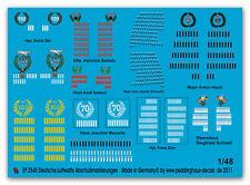 Peddinghaus 2545 1/48 Fuerza Aerea Alemana Lanzamiento De Marcas