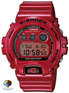 Casio G-SHOCK DW-6900MF (DW-6900) Limited Edition Red Crazy Color Mirror Dial