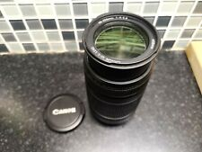 CANON EF-S 55-250mm 1:4-5.6 IS ZOOM LENS - EFS 55-250 mm f/4.0-5.6 VGC