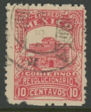 MEXICO, USED, #5, YUCATAN AND CANCEL, NICE