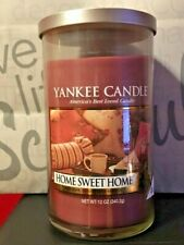 * YANKEE CANDLE * HOME SWEET HOME *  12 OZ  ~ SO NICE ~