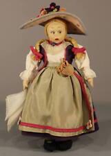 Wonderful Vintage 'Lenci' Felt Doll - All Original