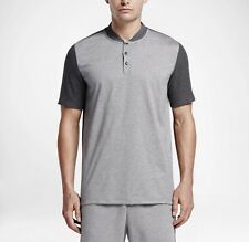 Nike Polo X Rf Roger Federer Tenis Camisa Gris-Xs-Nuevo ~ 826885 063