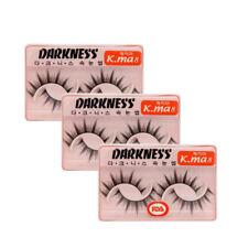 Darkness eyelashes K.ma8 3pcs (US Seller)