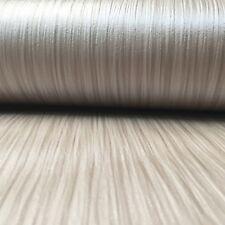 Muriva Kate Textured Taupe Metallic Sheen Shimmer Lines Stripes Wallpaper 117903