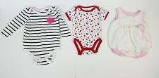 (Lot of 3) Toddler Jumpsuit one piece 0- 3M 0- 5M CIRCO Baby Gear Healthtex girl