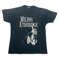 Melissa Etheridge Live Brave & Crazy Tshirt | Vintage 80s Folk Rock Music VTG