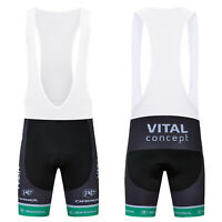 New Men's Black Cycling Short Tights Bike Bicycle Sports Bib Shorts Gear Cushion